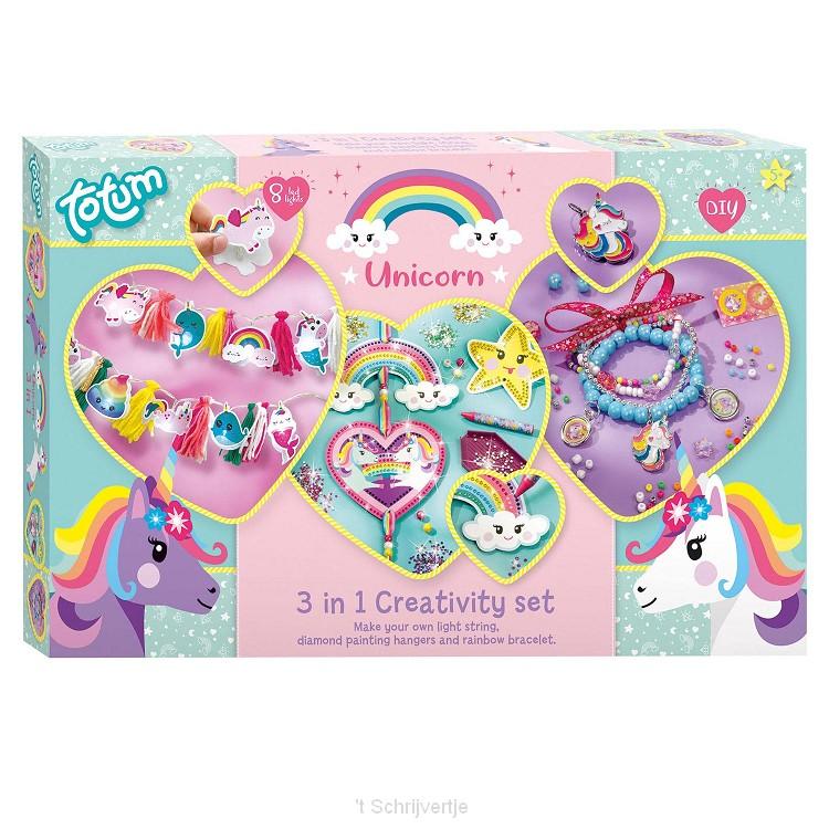 Totum Eenhoorn Knutselset, 3in1