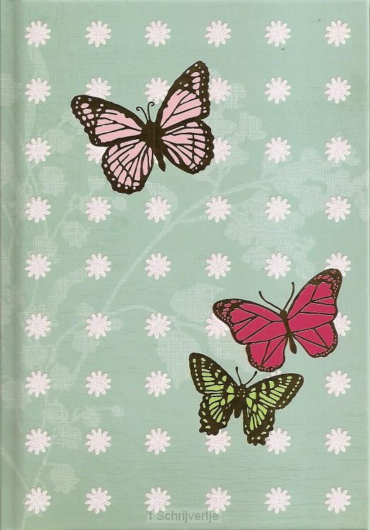 Notitieboek 15x21 cm Vlinders