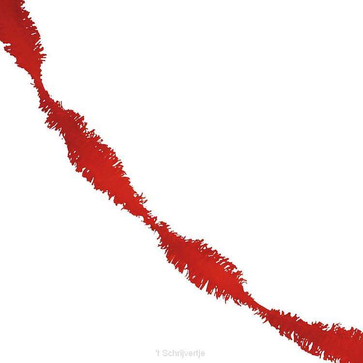 Rode Draaiguirlande
