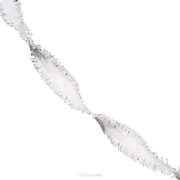 Witte Draaiguirlande