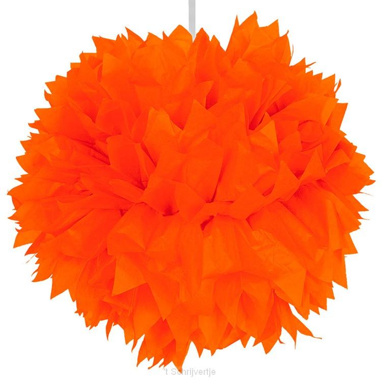 Oranje Pompom