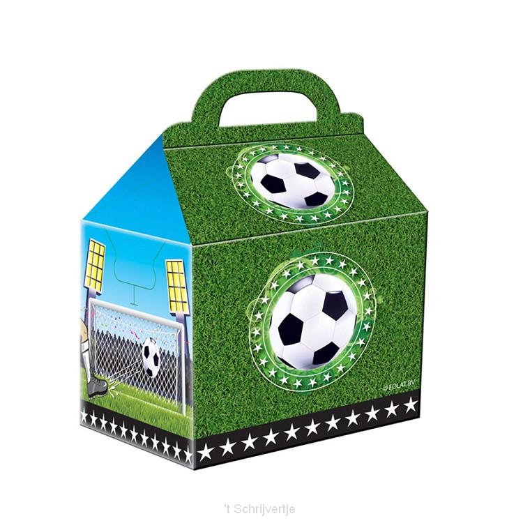 Voetbal Uitdeelzakjes, 4st.