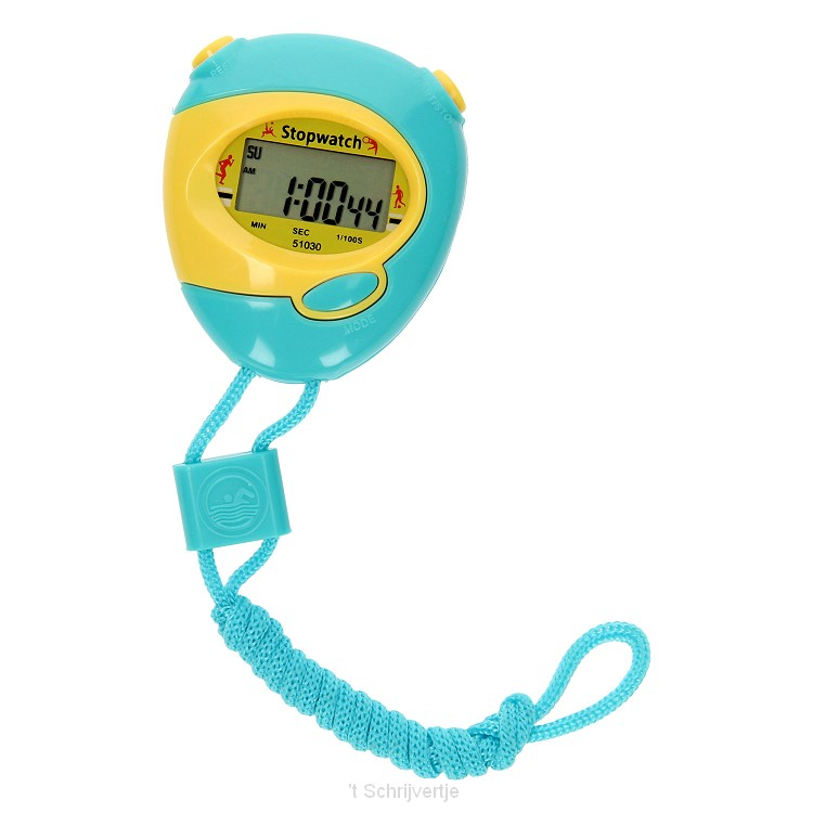 Stopwatch - Blauw/Geel