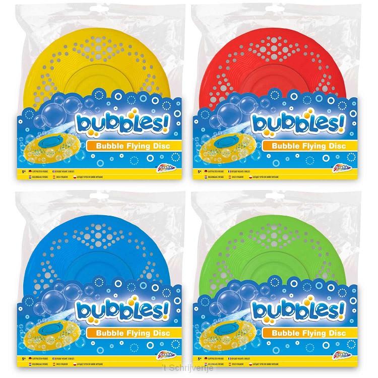 Bellenblaas Frisbee Kleur