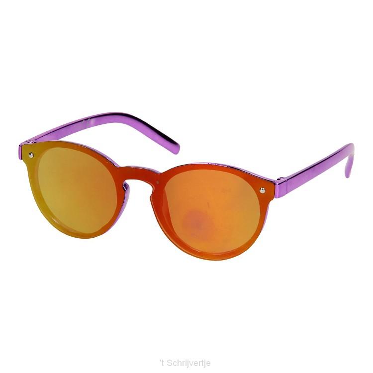 Kinderzonnebril UV Metallic - Paars