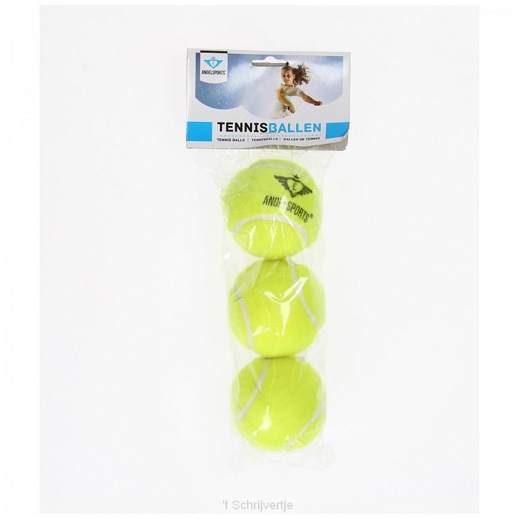 Tennisballen, 3 stuks