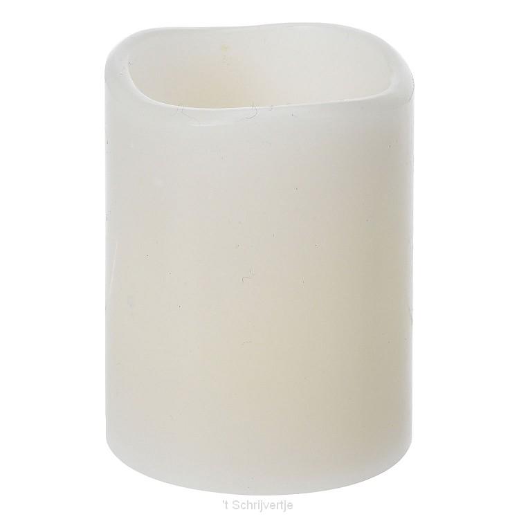 LED Kaars Ivoor, 6,5cm