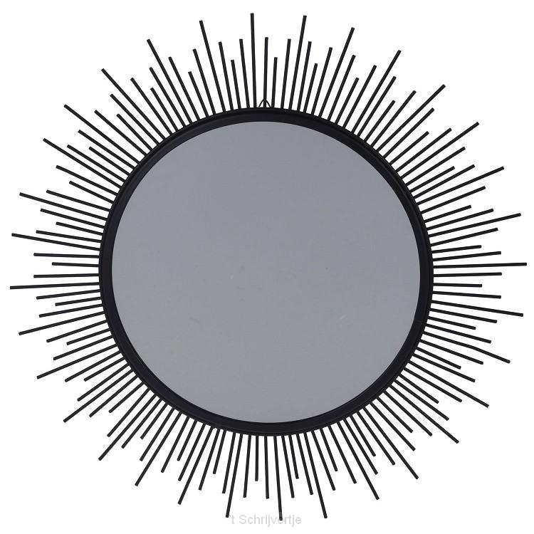 Spiegel Lona Metaal Zwart