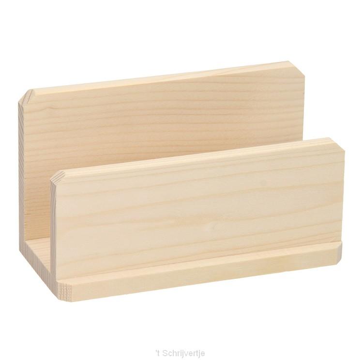 Brievenhouder - Servethouder Grenen