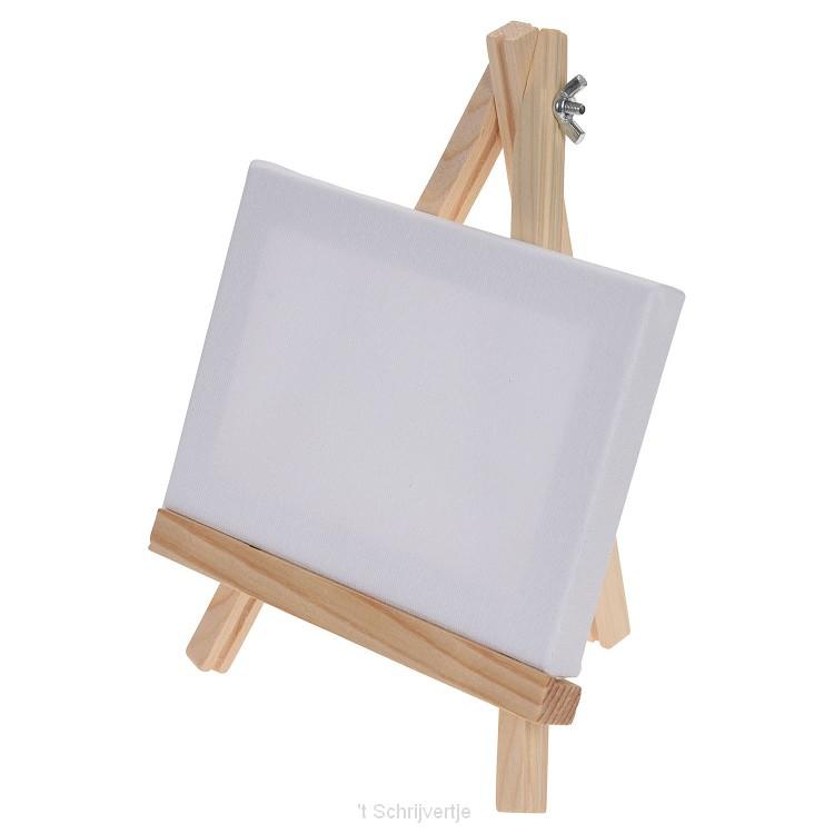 Canvas op Schildersezel