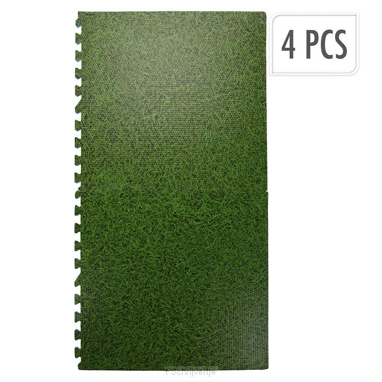 Ondertegels Grasprint, 60x60cm (4 stuks)