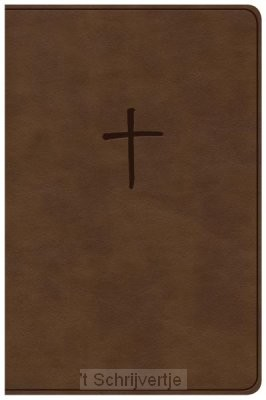 NKJV value compact bible brown leatherto