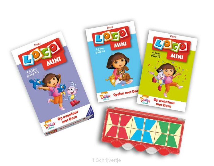 Loco Mini - Dora Starterspakket Groep 1-2 (4-6 jr.)