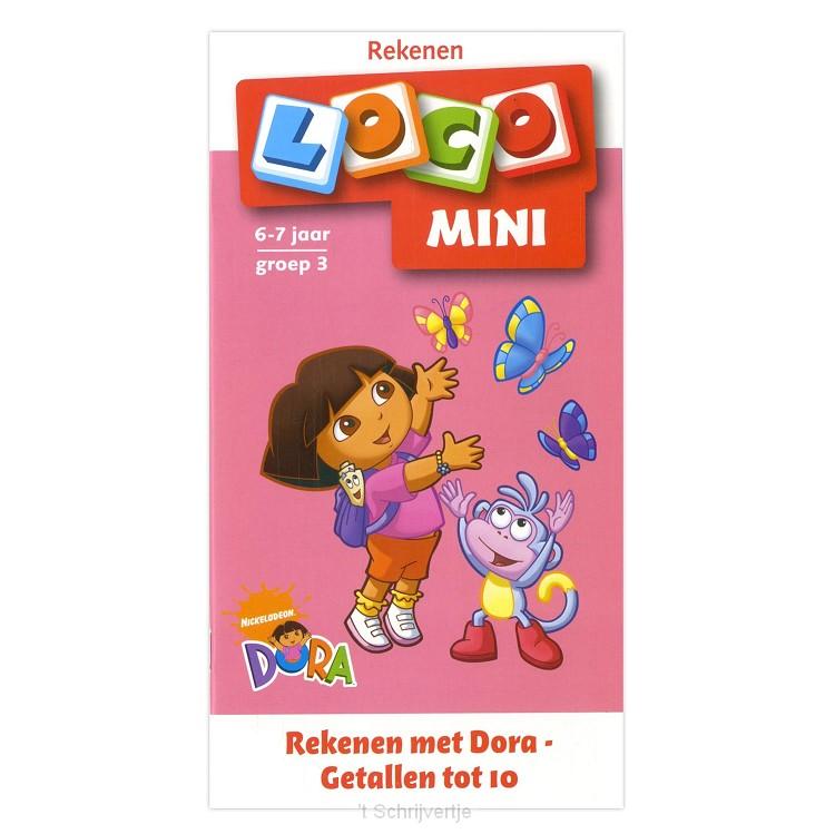 Mini Loco - Rekenen met Dora Getallen tot 10 (6-7 jr.)