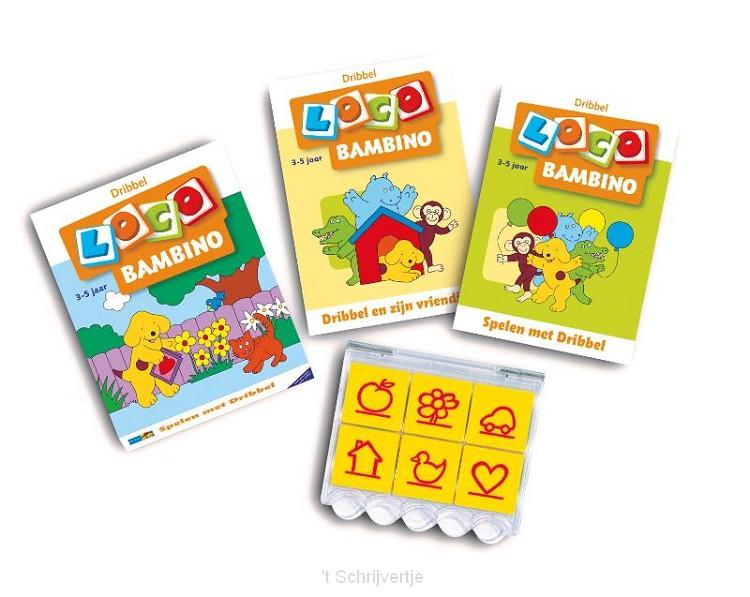Bambino Loco Pakket - Spelen met Dribbel (3-5 jr.)