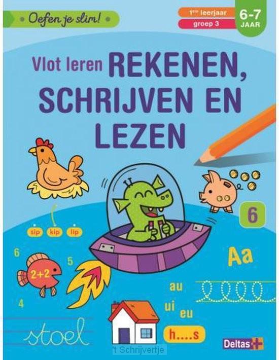 Vlot Leren Rekenen, Schrijven en Lezen, 6-7 jaar