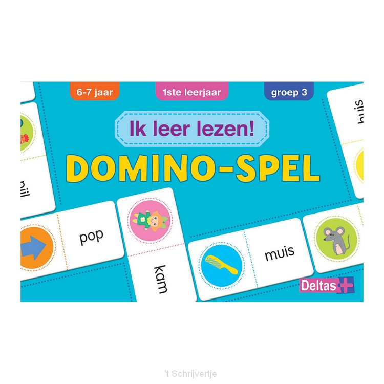 Ik leer lezen! Domino-spel