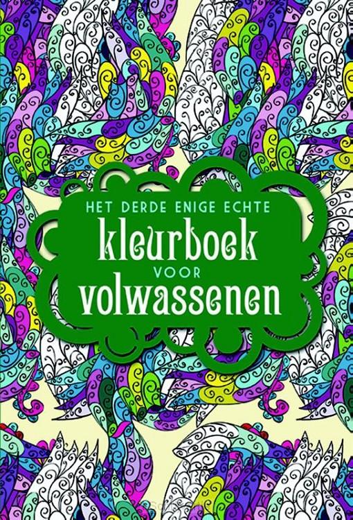 Derde echte kleurboek voor volwassenen