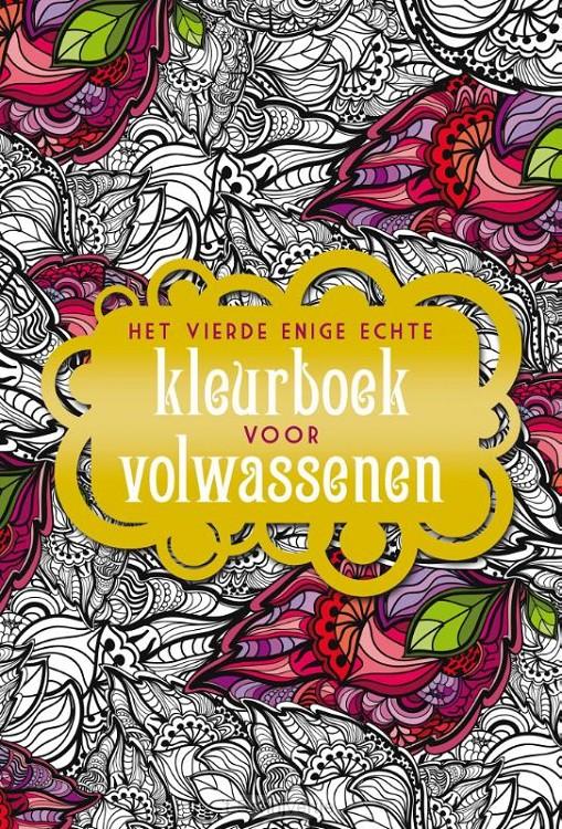 Vierde echte kleurboek voor volwassenen