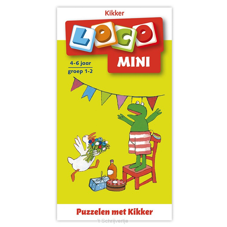 Mini Loco - Puzzelen met Kikker (4-6 jr.)