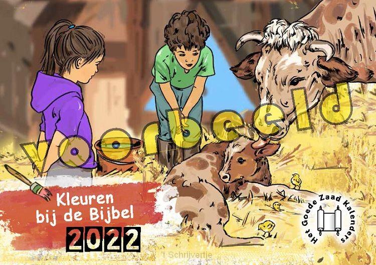 Kalender 2020 kleuren bij de bijbel