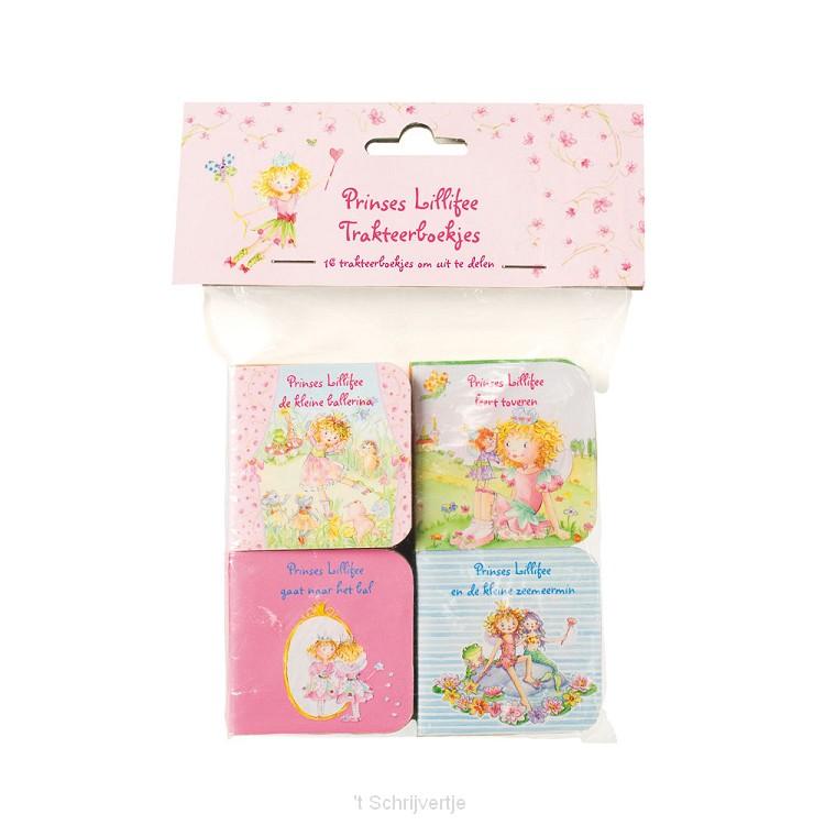 Prinses Lillifee Mini Uitdeelboekjes, 16st.