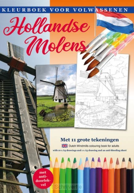Kleurboek Molens