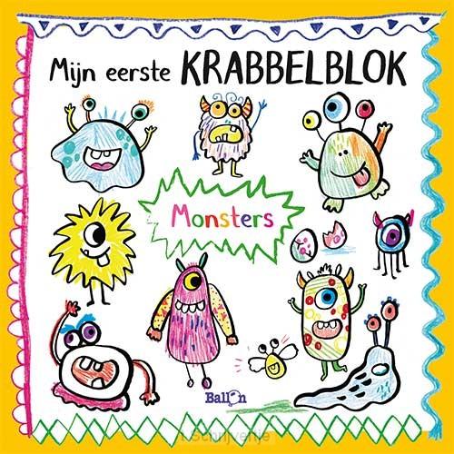 Mijn eerste Krabbelblok - Monsters