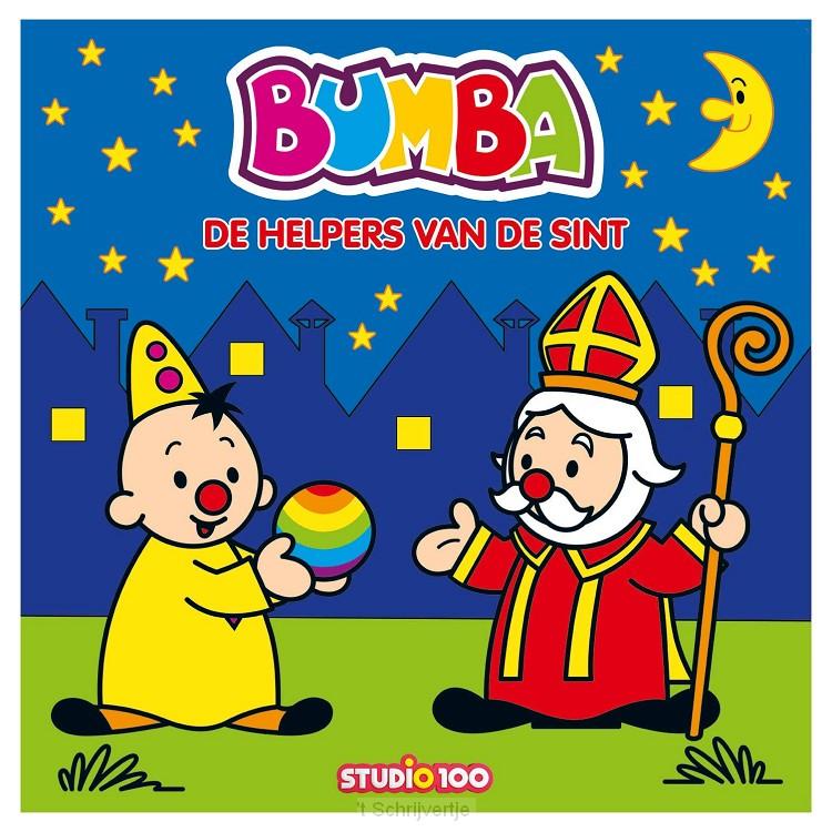 Bumba Kartonboek - De Helpers van de Sint