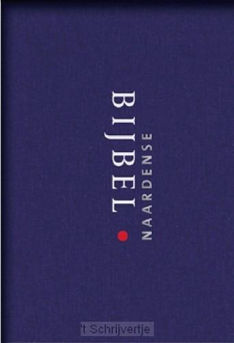 Naardense bijbel blauw linnen gebonden