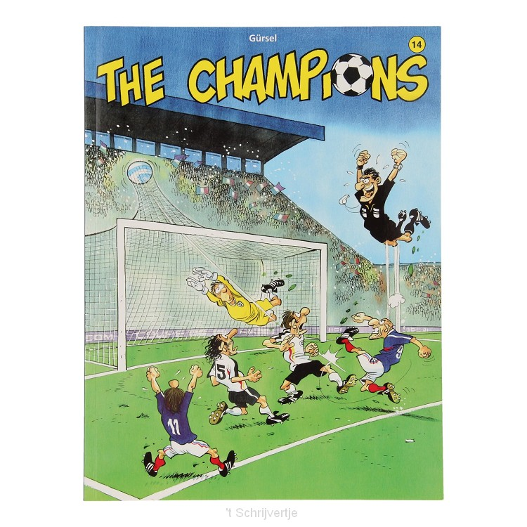 The Champions 14 Stripboek