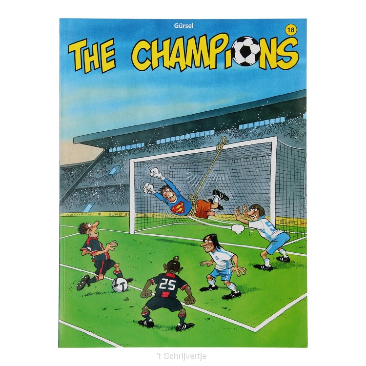 The Champions 18 Stripboek