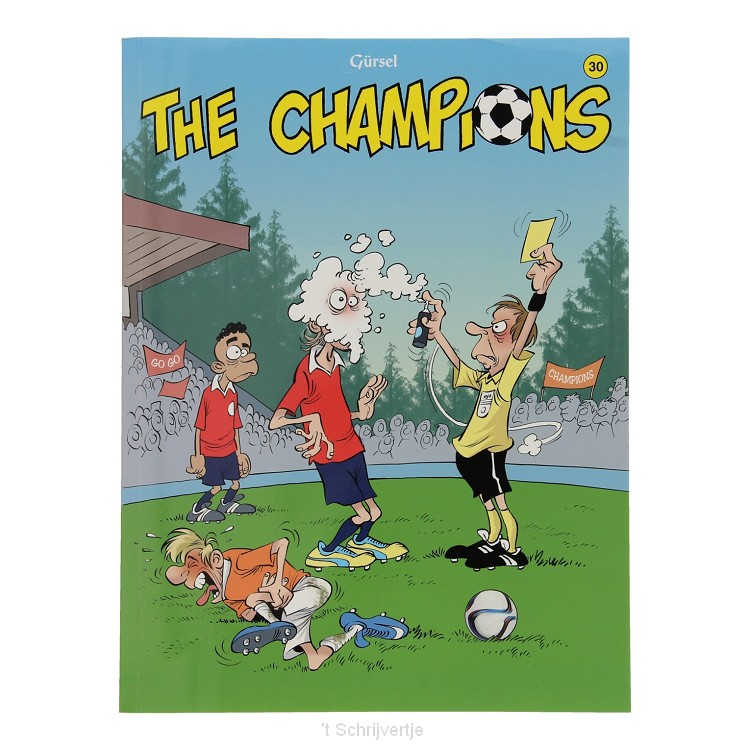 The Champions 30 Stripboek