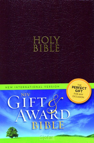 Gift & award bible burgundy