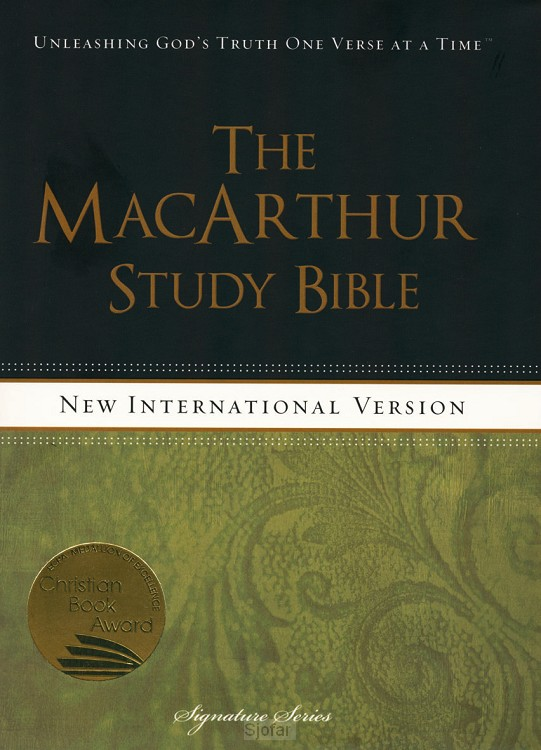 Macarther study bible, the