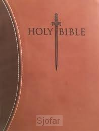 Sword study bible thinline large print
