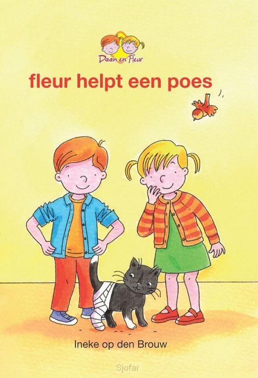 Fleur helpt een poes