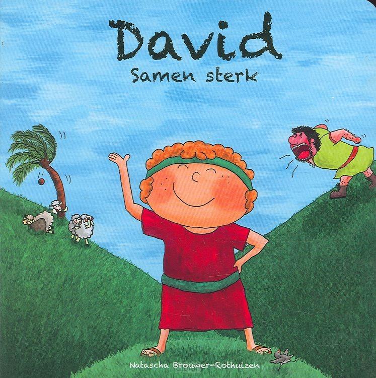 David samen sterk kartonboek