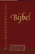 Bijbel rood leer goudsnee