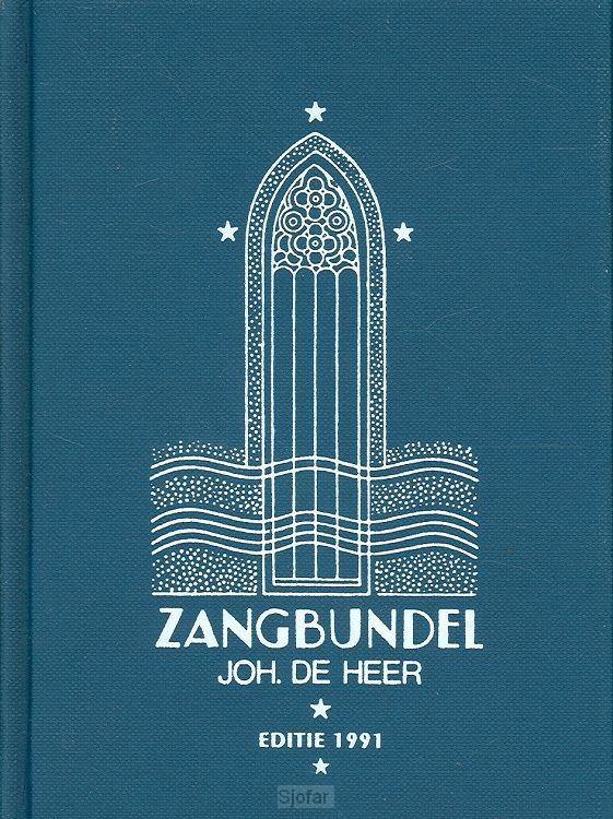 Zangbundel joh. de heer tekstuitgave 2