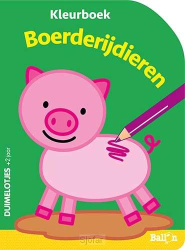 Boerderijdieren kleurboek 2+
