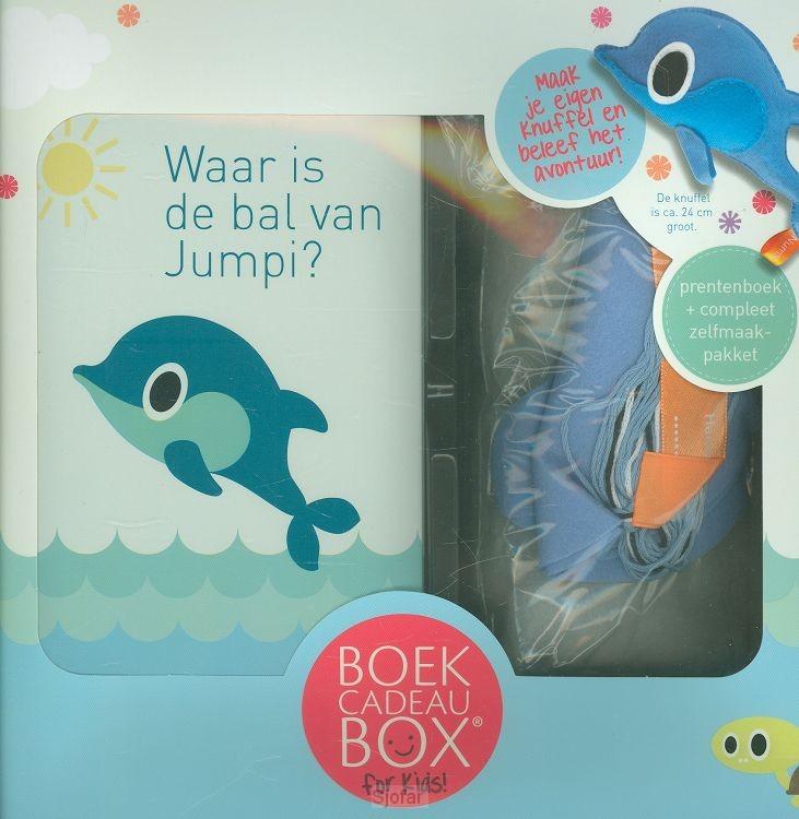 Boekcadeaubox for kids viltpakket Jumpi