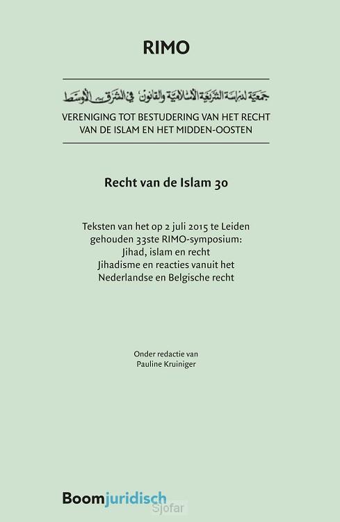 Recht van de Islam / 30