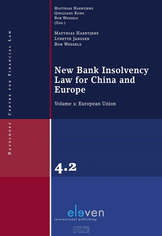 New Bank Insolvency Law for China and Europe