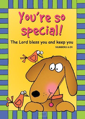 Verse card you're so special set6