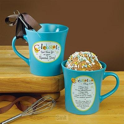Mug with whisk celebrate