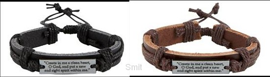 Bracelet set (2) Create in me a clean he