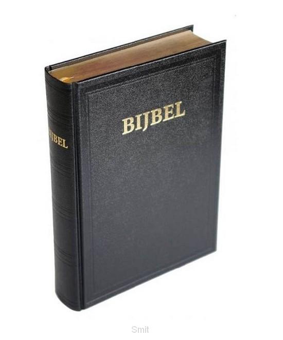 Kanttekeningbijbel KTBM zwart goudsnede