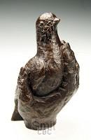 Beeld 1230.20 handje duif 11cm brons