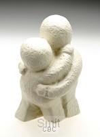 Beeld 8c liefde is hemels 7cm ivoor